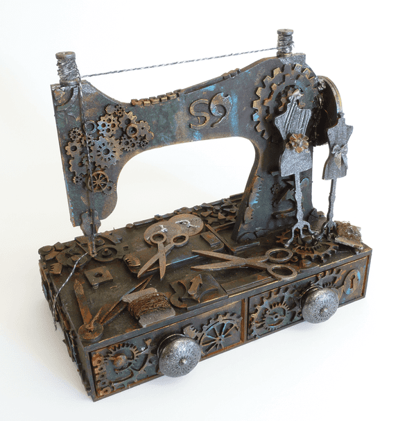 Sewing Machine Topper with Two Drawer Unit